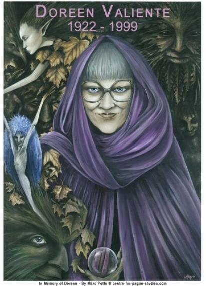 Doreen Valiente Poster